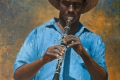 clarinet-player